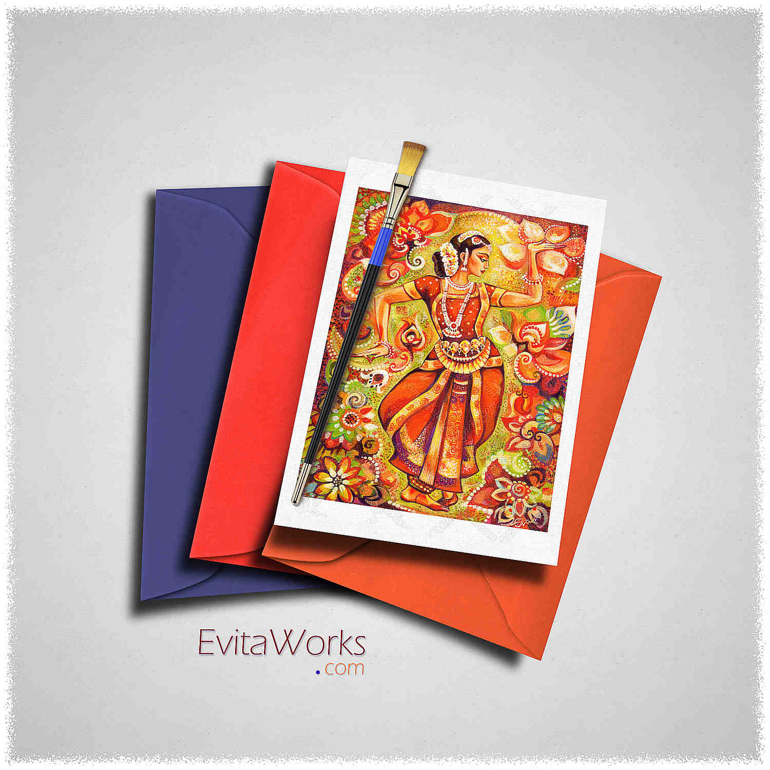India Card ~ EvitaWorks