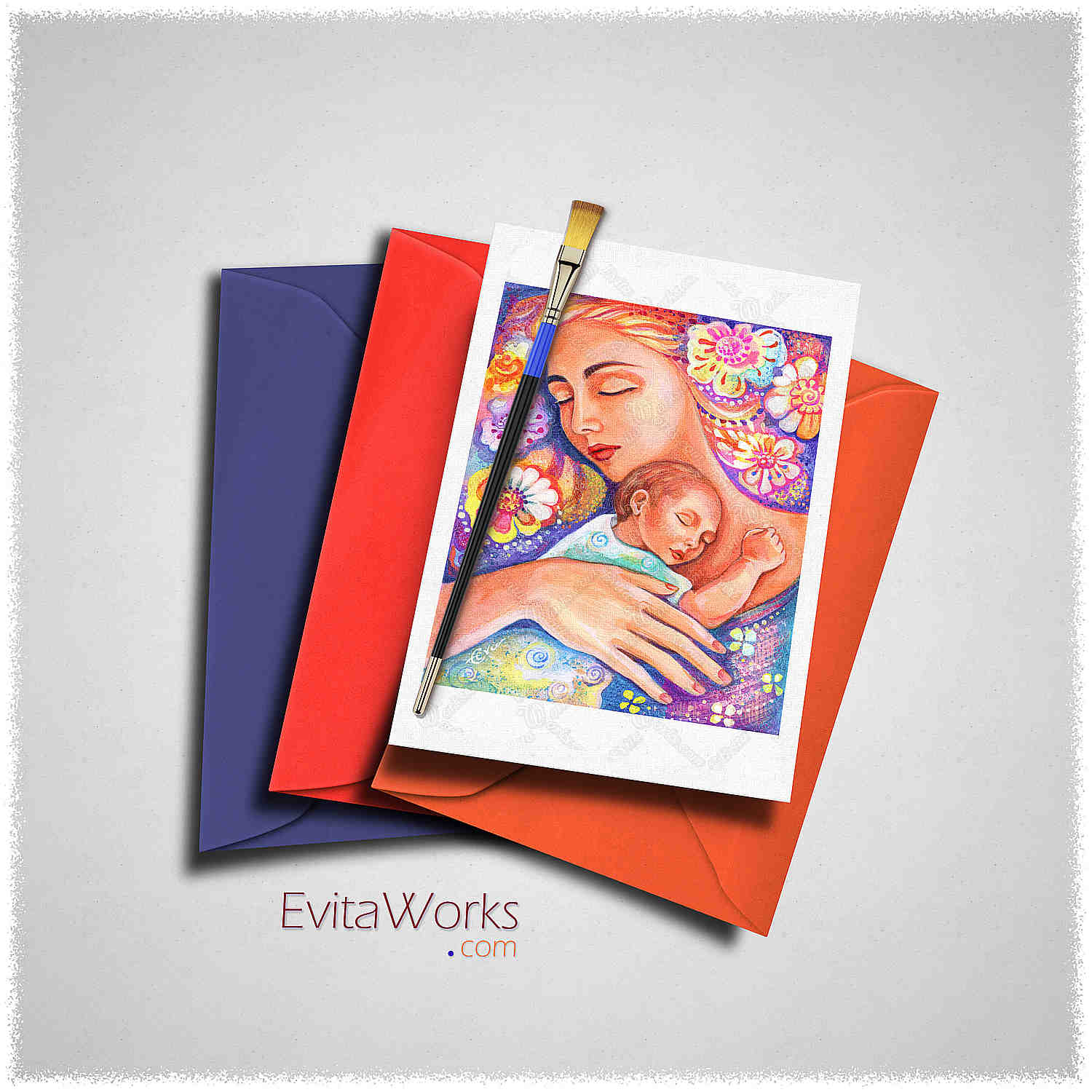 Maternity 01 Card ~ EvitaWorks