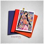 Belly Dancer Card ~ EvitaWorks