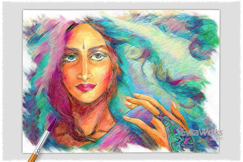 East Woman 02 ~ EvitaWorks