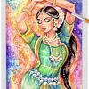 a4 indian dancer y21 ~ EvitaWorks