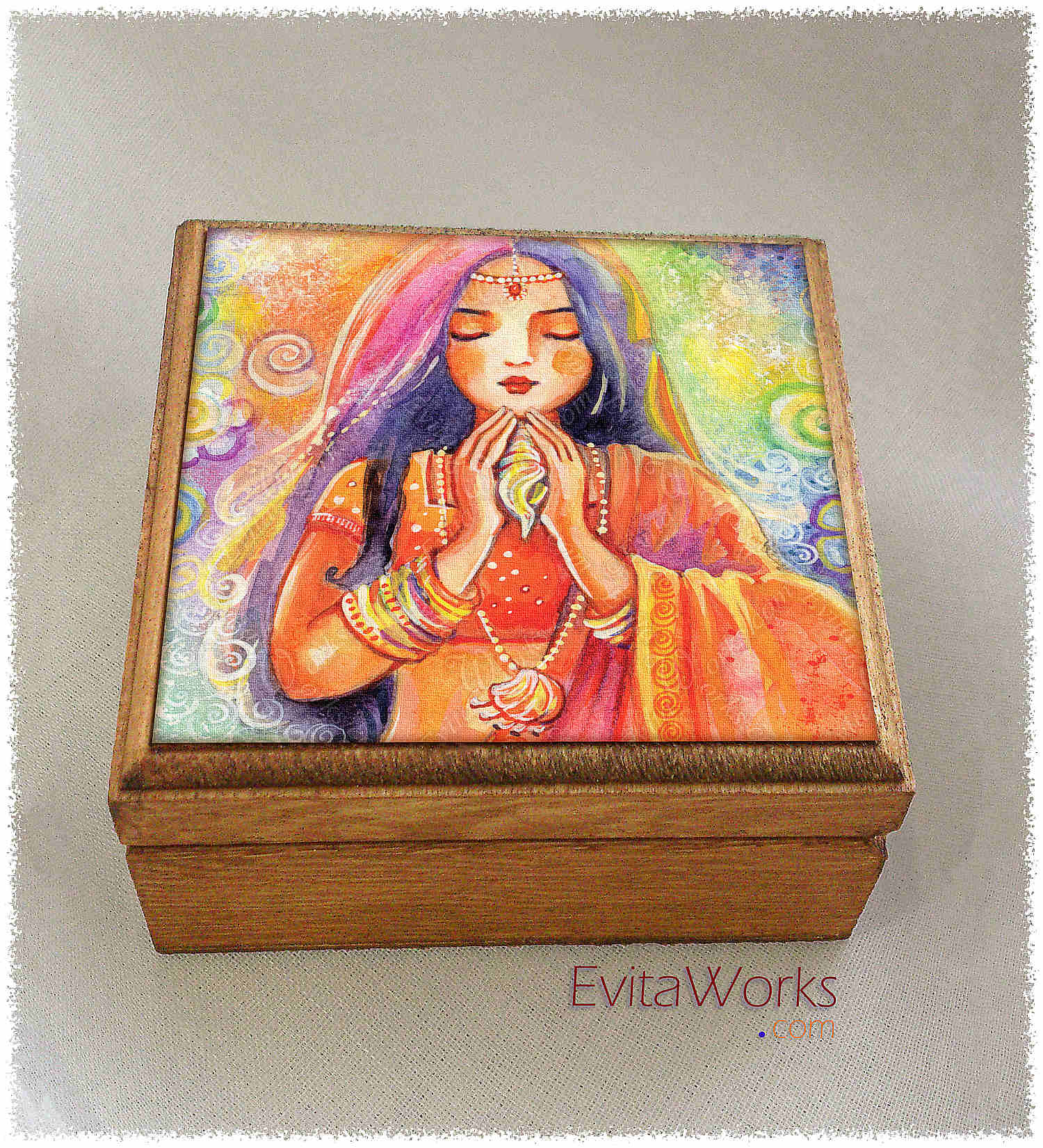 Indian Mermaid 2016 Boxsq ~ EvitaWorks