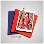Indian Woman 2017 Card ~ EvitaWorks