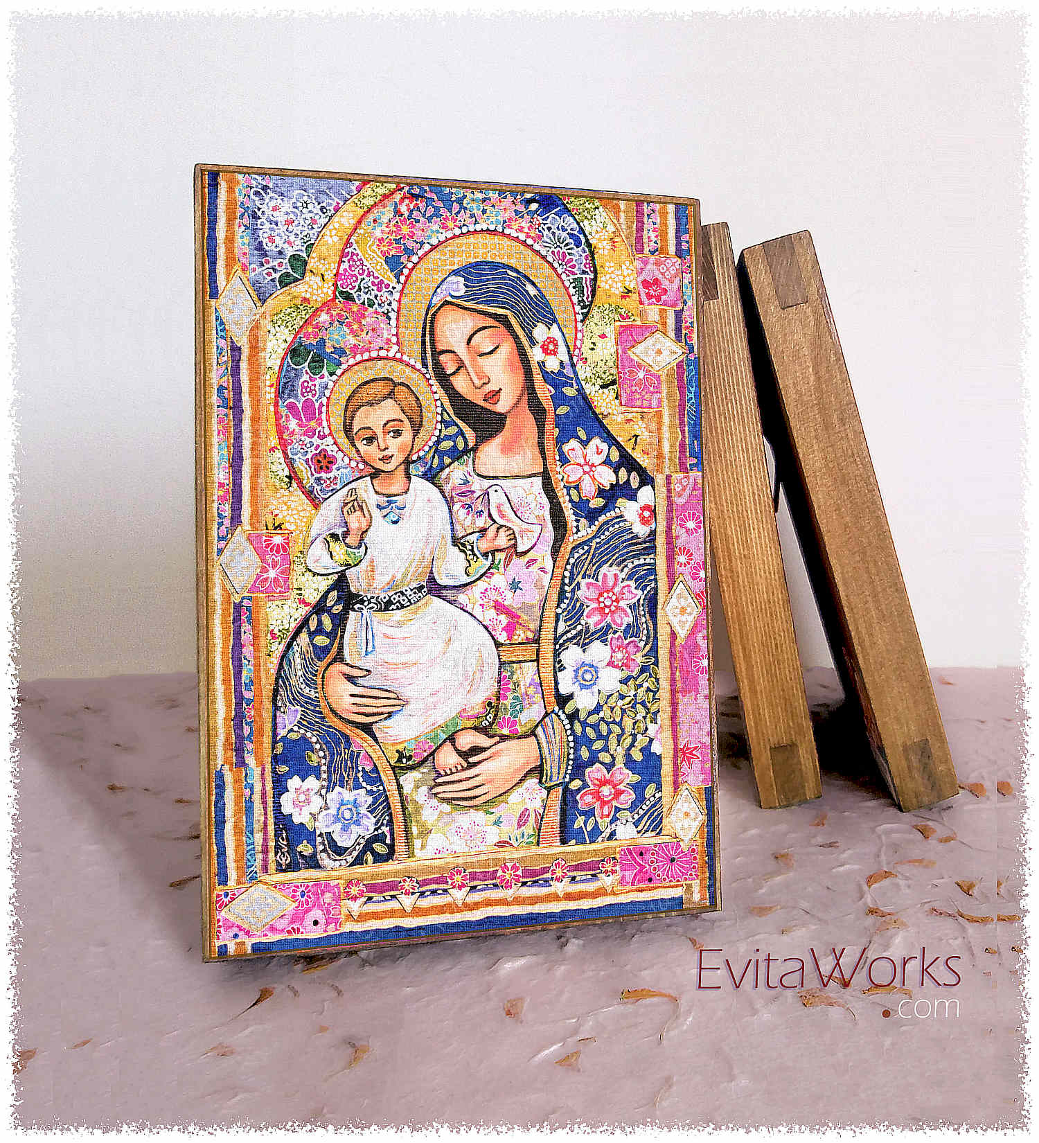 Madonna And Child 2017 Block1 ~ EvitaWorks