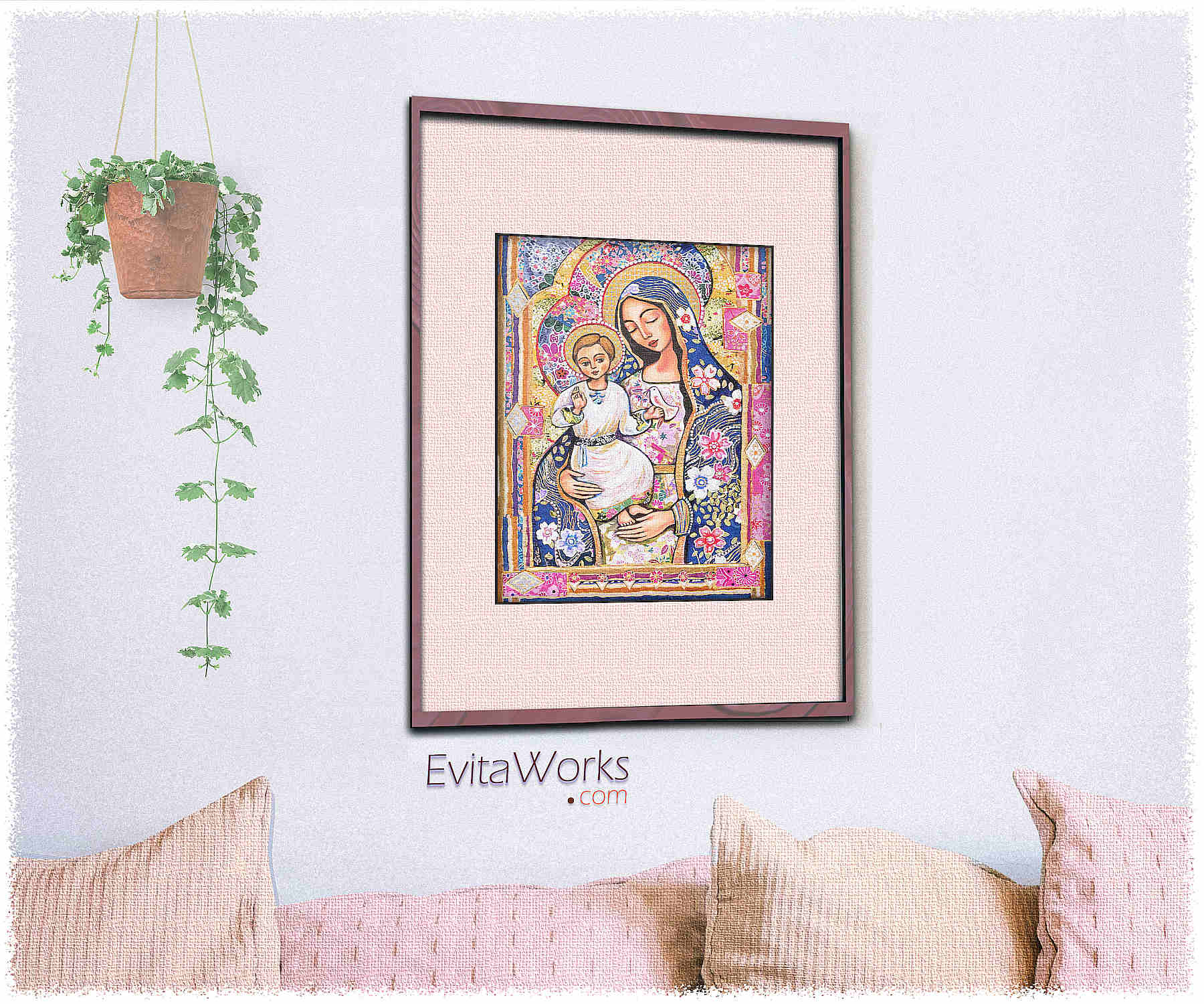 Madonna And Child 2017 Room ~ EvitaWorks