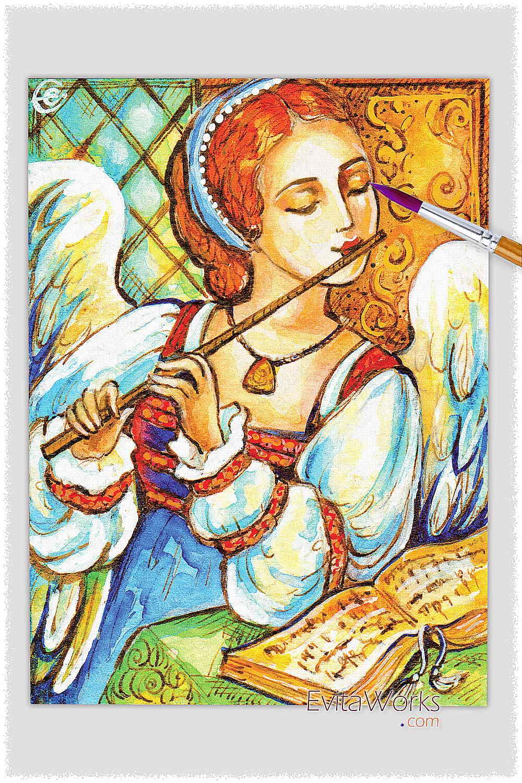 Angel 31 ~ EvitaWorks