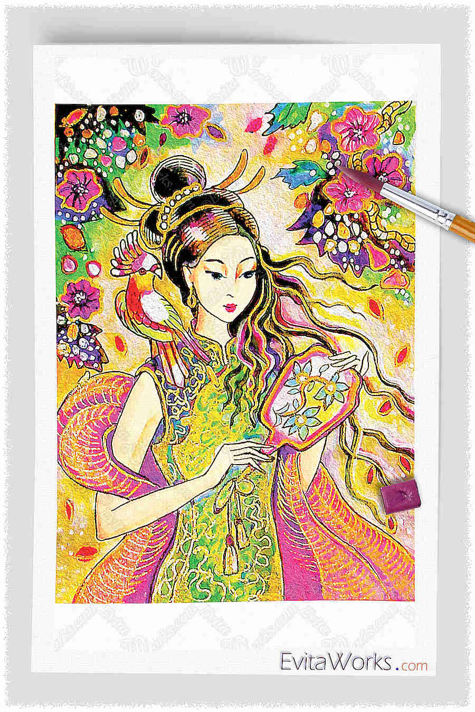 Geisha 18 ~ EvitaWorks