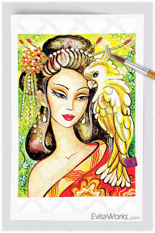 Geisha 20 ~ EvitaWorks