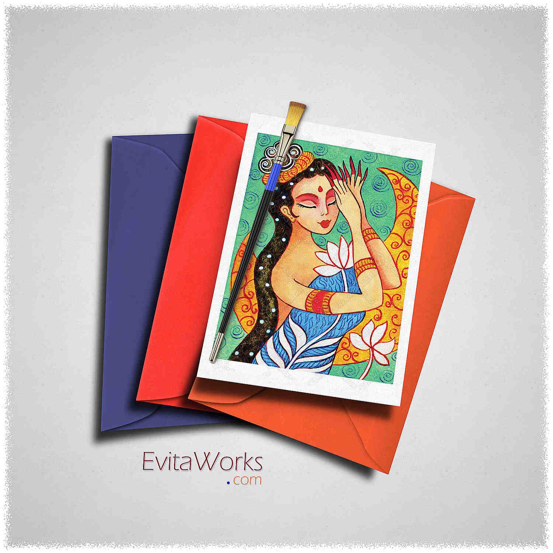 Geisha 46 Card ~ EvitaWorks