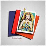 Goddess 02 Card ~ EvitaWorks