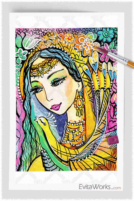 Indian Woman 02 1 ~ EvitaWorks
