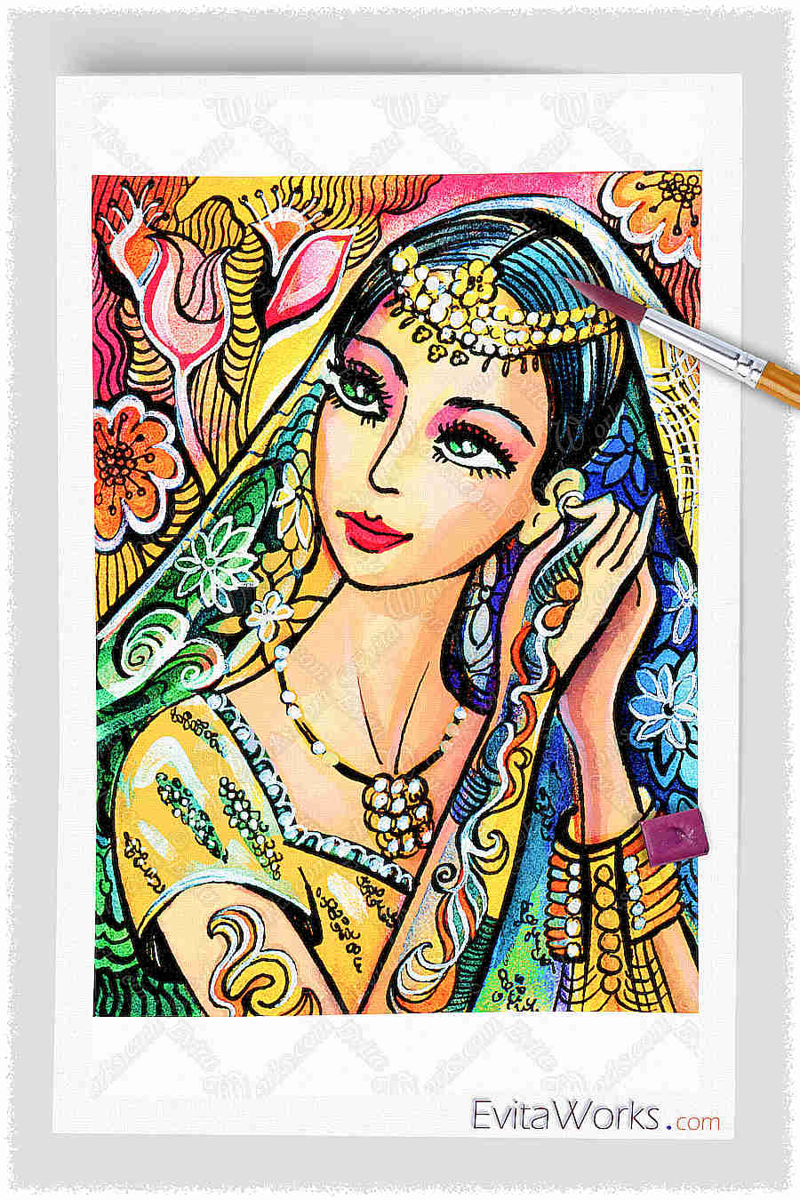 Indian Woman 02 ~ EvitaWorks
