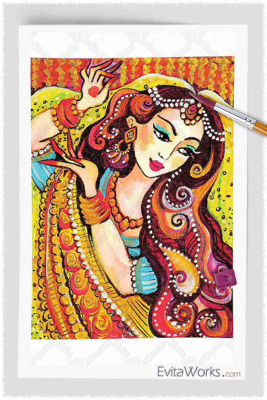 Indian Woman 05 ~ EvitaWorks