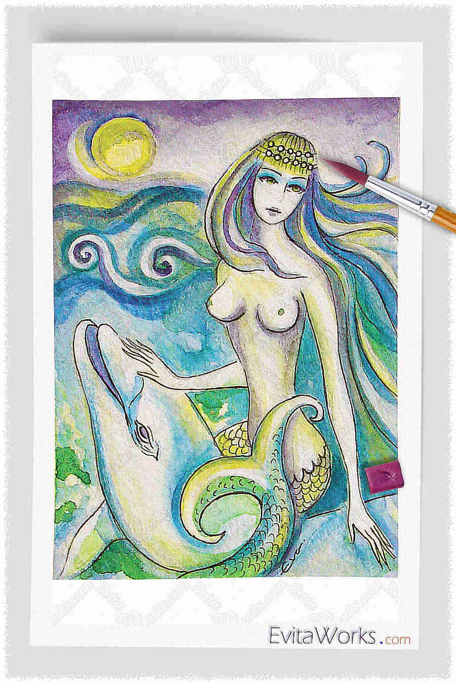 Mermaid 13 ~ EvitaWorks