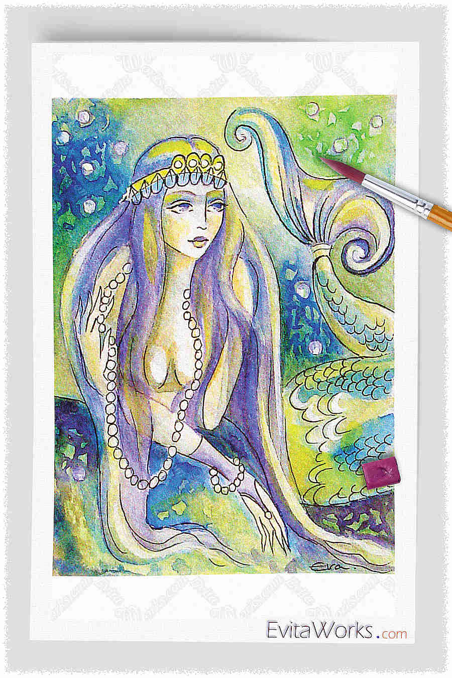 Mermaid 14 ~ EvitaWorks