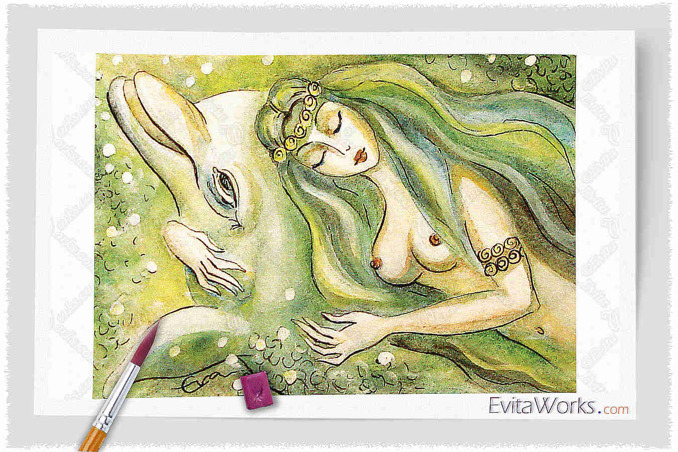 Mermaid 17 ~ EvitaWorks