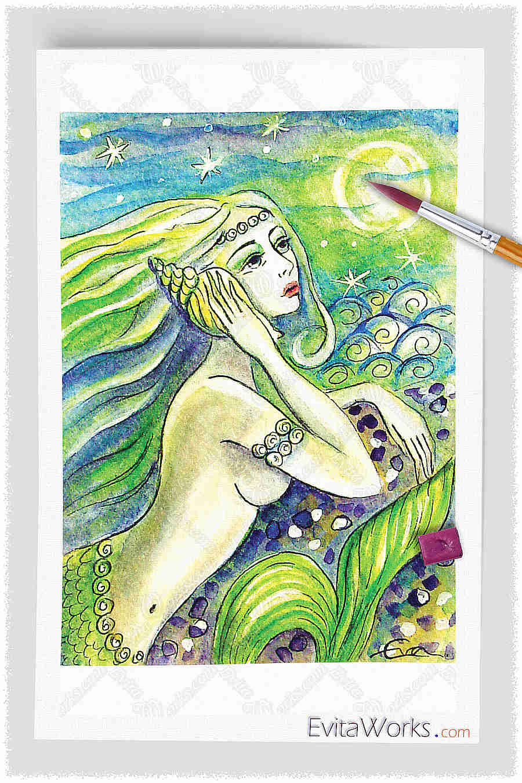 Mermaid 21 ~ EvitaWorks