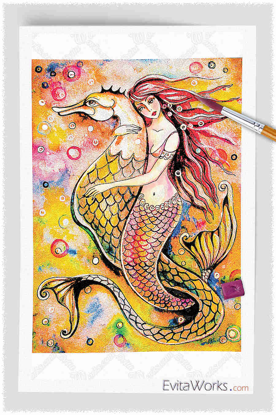 Mermaid 25 ~ EvitaWorks