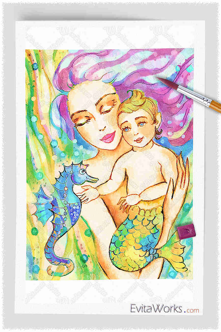 Mermaid 40 ~ EvitaWorks