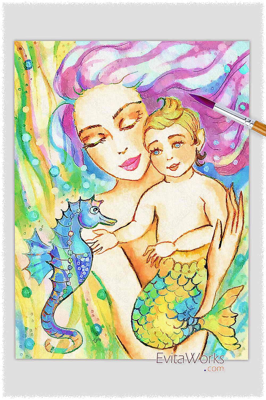 ao mermaid 40 ~ EvitaWorks