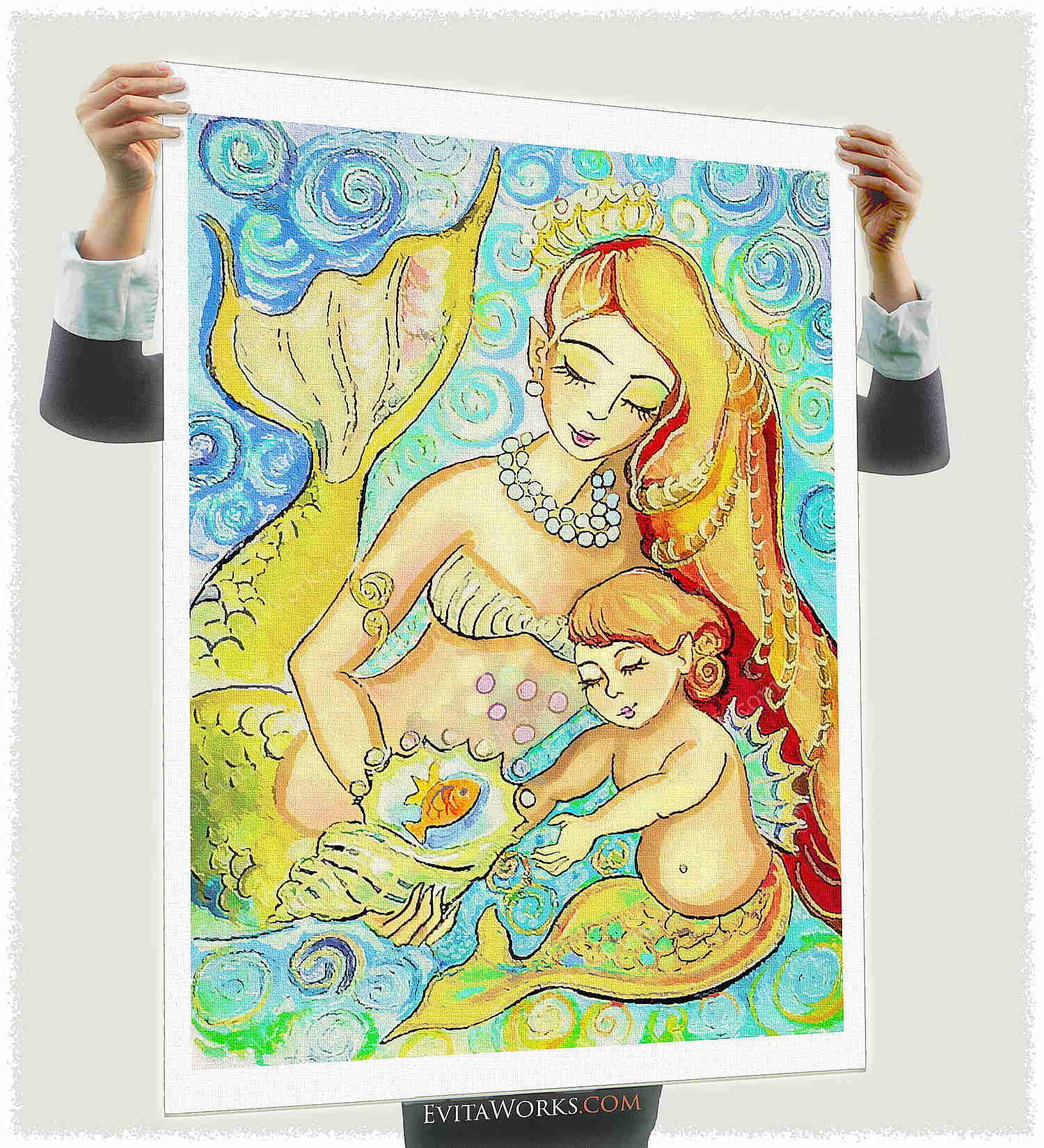 ao mermaid 42 a1 ~ EvitaWorks