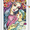 Mother And Child In Blue ~ EvitaWorks