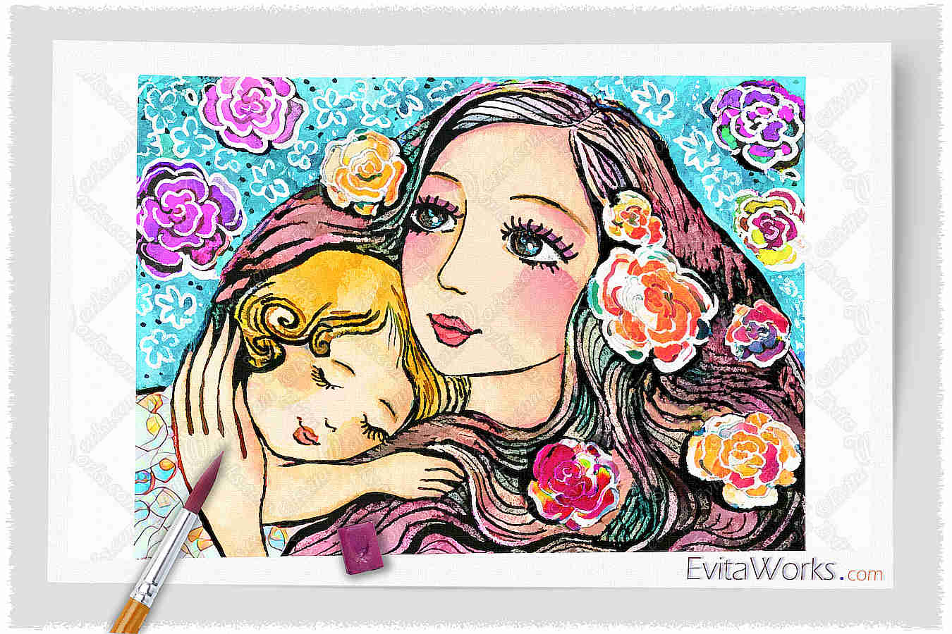 Mother Child 17 ~ EvitaWorks