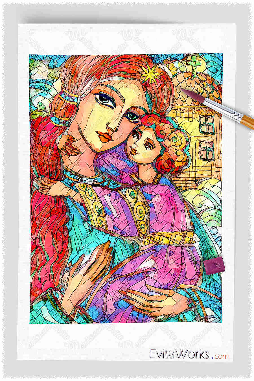 ao mother child 19 ~ EvitaWorks