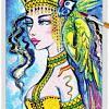 Parrot Lady 03 ~ EvitaWorks