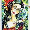 Parrot Lady 05 ~ EvitaWorks