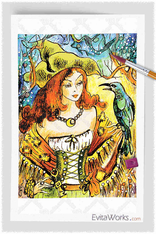 Witch 08 ~ EvitaWorks