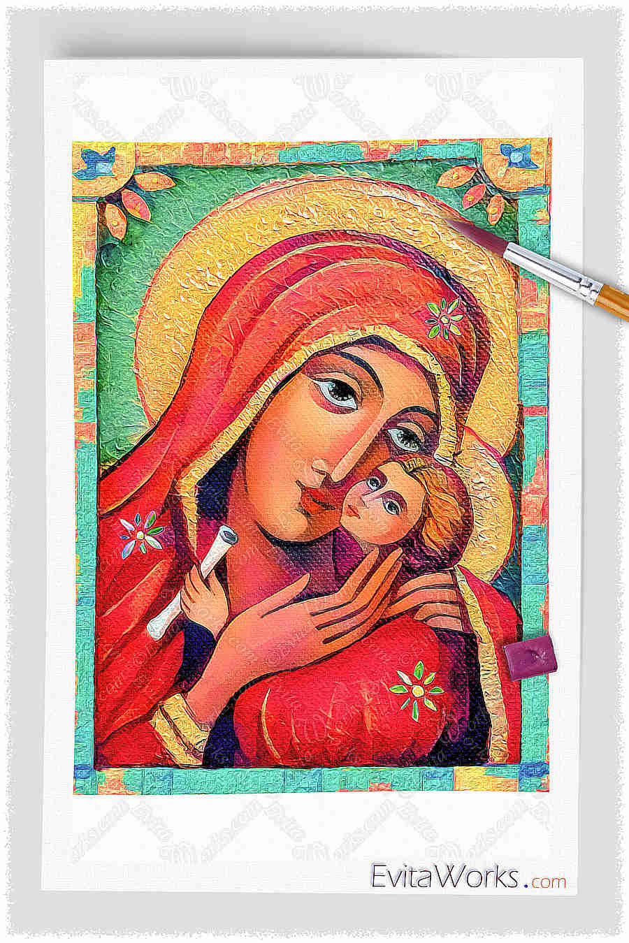 Madonna And Child ~ EvitaWorks