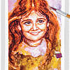 Portrait Of A Child 02 ~ EvitaWorks