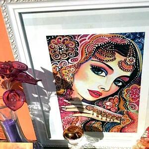 im beautifully framed kumari ~ EvitaWorks