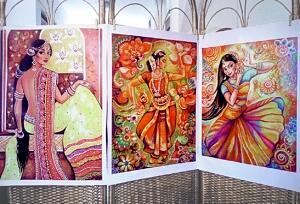 im bharat ganges flower sunshine dance prints ~ EvitaWorks