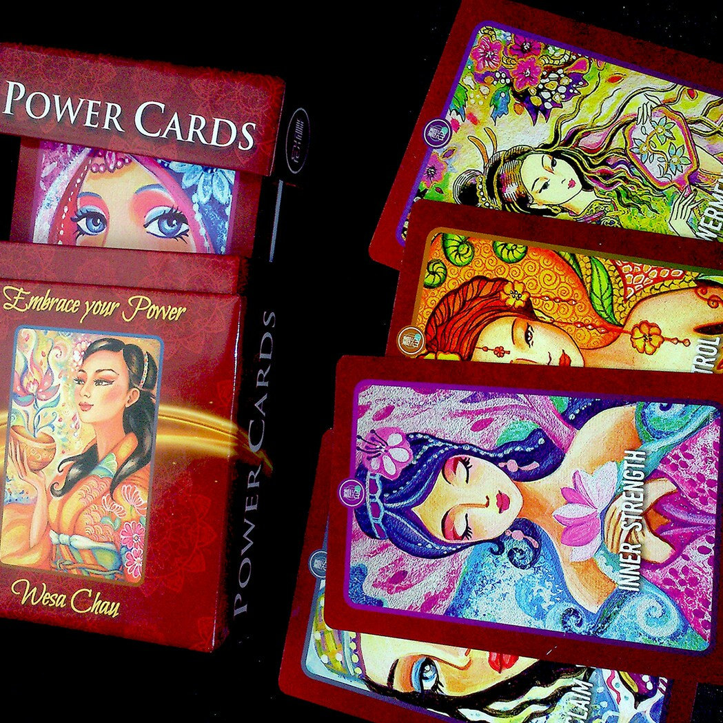 Power Cards Wesa Chau ~ EvitaWorks