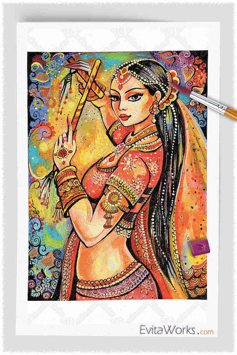Belly Dancer 02 ~ EvitaWorks
