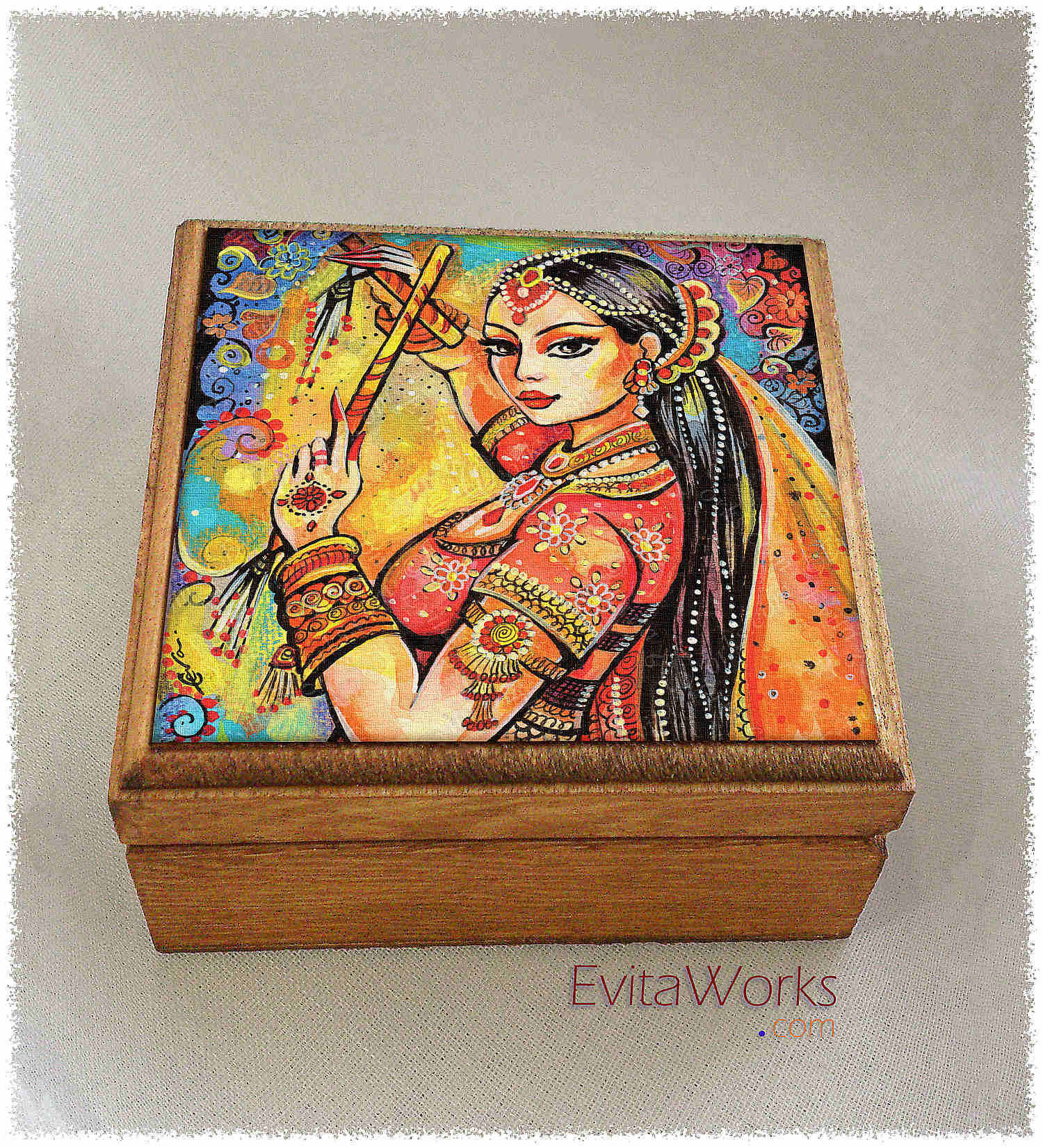 Belly Dancer 02 Boxsq ~ EvitaWorks