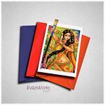 Belly Dancer 04 Card ~ EvitaWorks