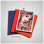 East Woman 18 1 Card ~ EvitaWorks