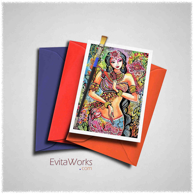 East Woman 22 Card ~ EvitaWorks