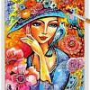 Flower Lady 01 ~ EvitaWorks