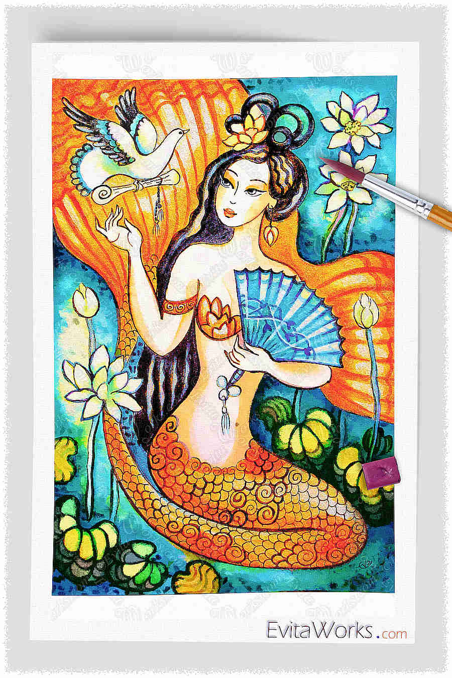 Mermaid 09 ~ EvitaWorks