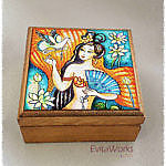 Mermaid 09 Boxsq ~ EvitaWorks