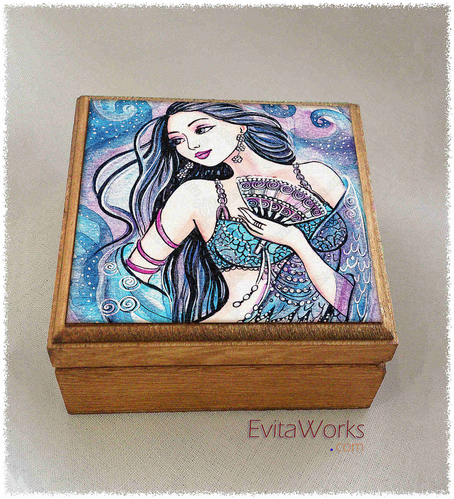 Mermaid 26 Boxsq ~ EvitaWorks