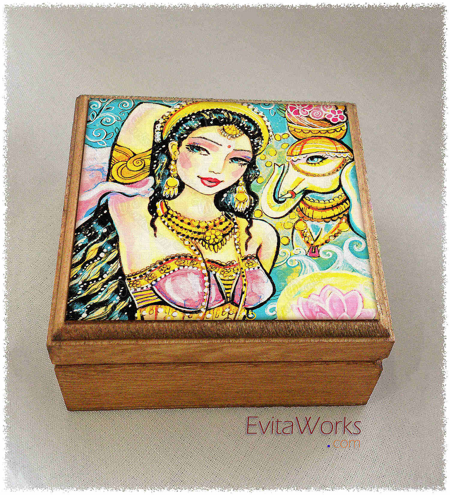 Mermaid 33 Boxsq ~ EvitaWorks
