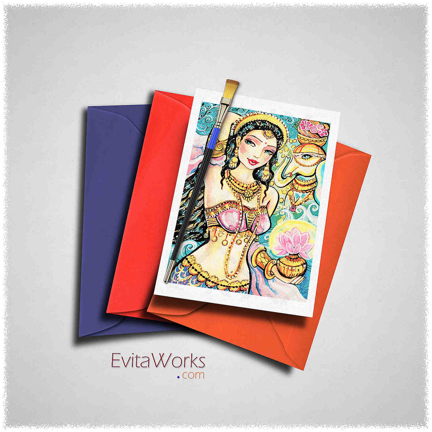 Mermaid 33 Card ~ EvitaWorks