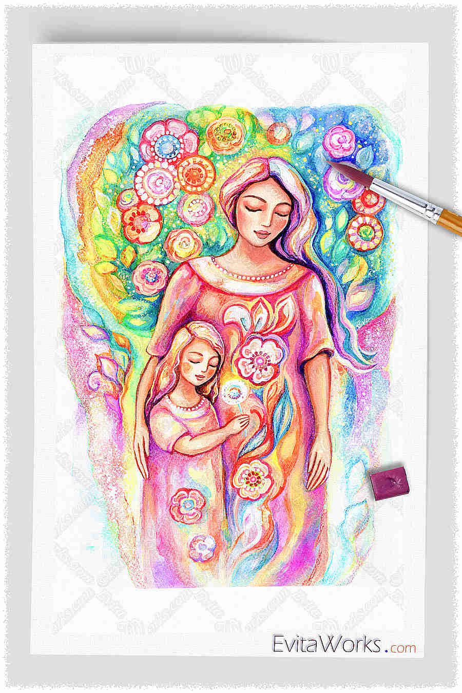 oa mother daughter y19 ~ EvitaWorks