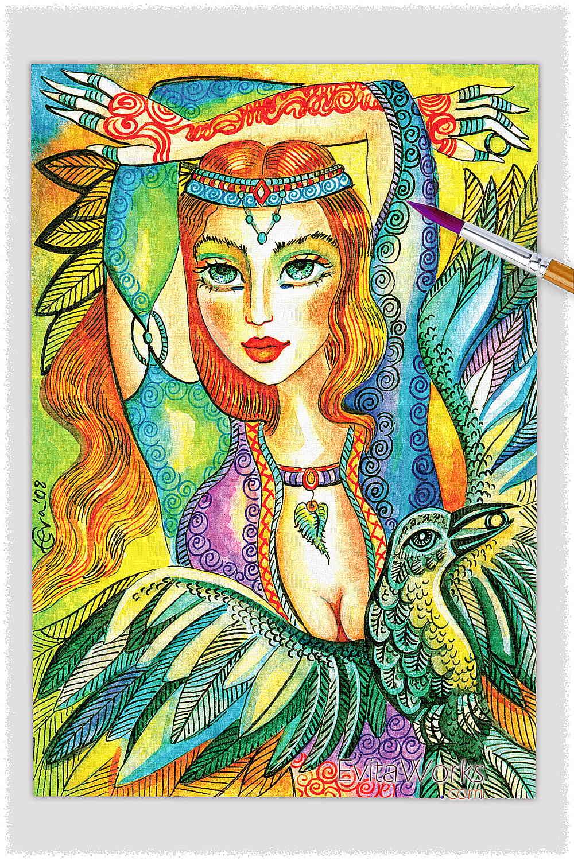 Raven Lady 05 ~ EvitaWorks