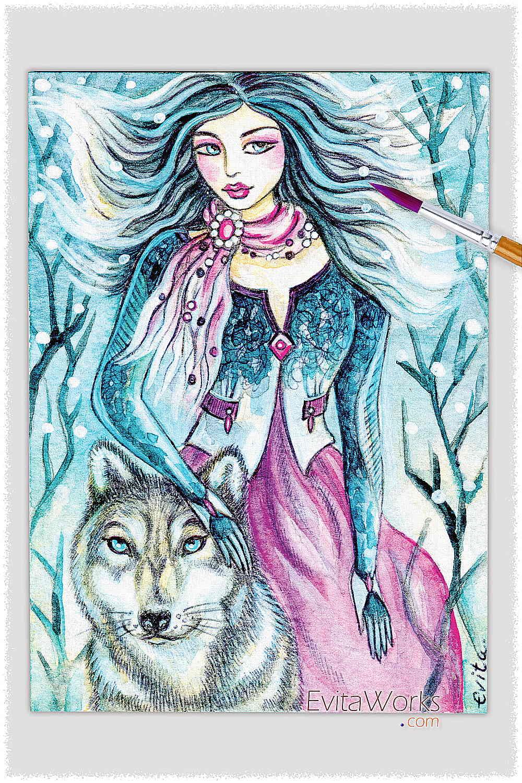 Witch 02 ~ EvitaWorks
